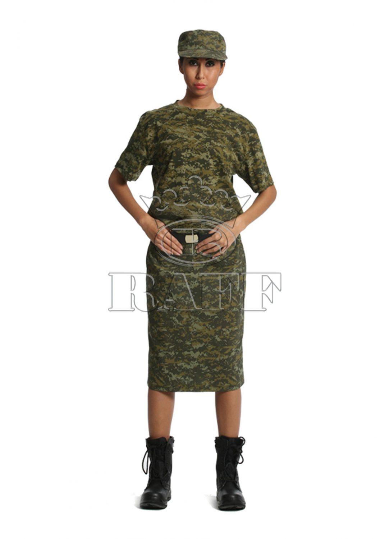 Bayan Asker Üniforması
